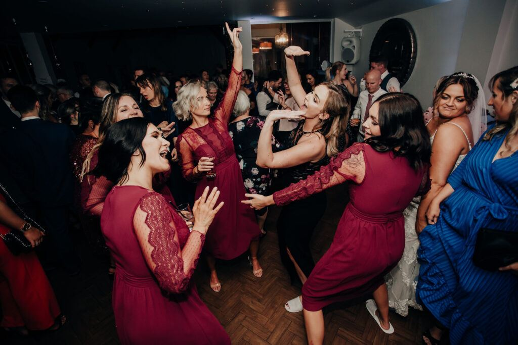 Bridesmaids love Hampshire Event DJs, the Hampshire Wedding DJs