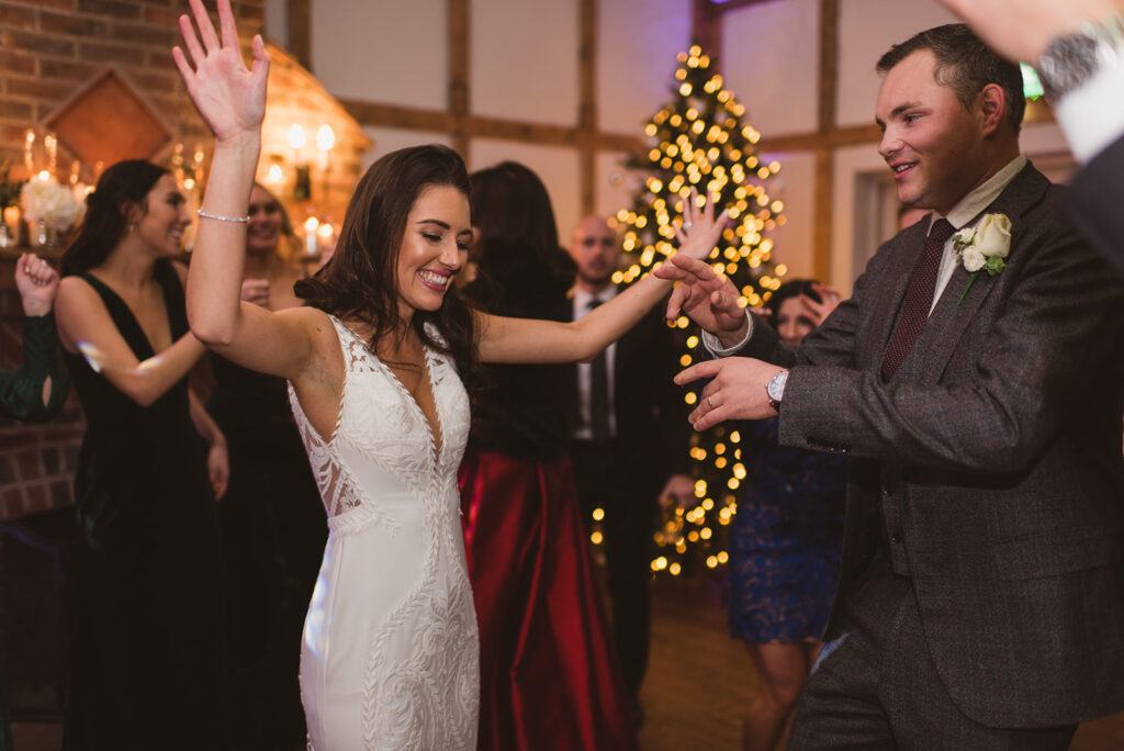 Hampshire Event DJs are recommended suppliers for New Forest winter weddings at Burley Manor.