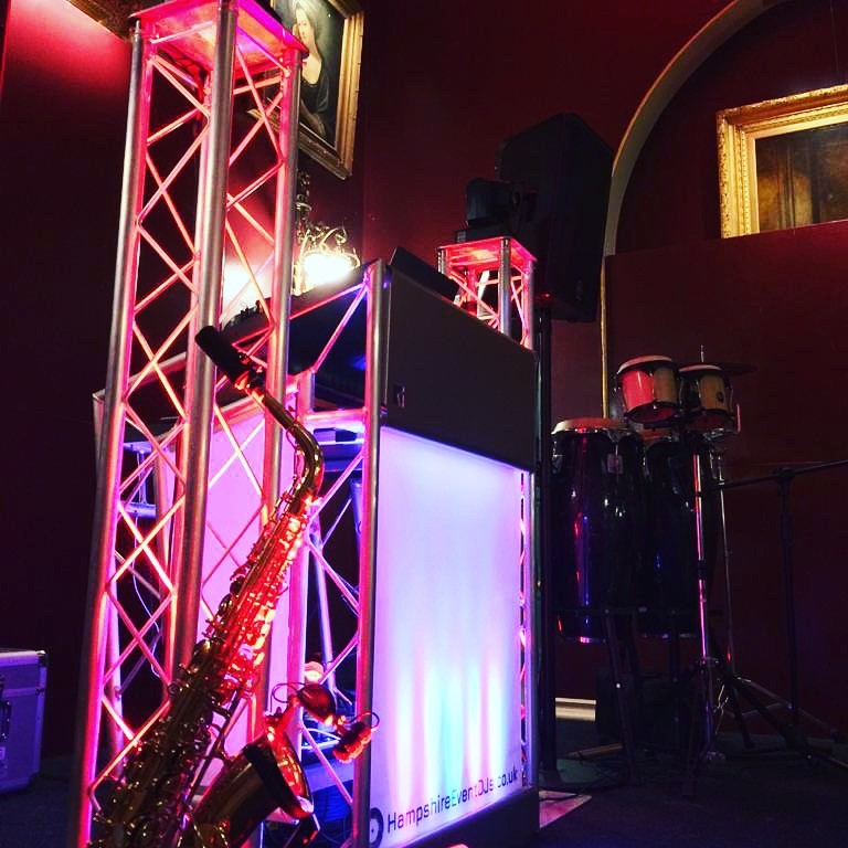 Hampshire Event DJs provide Christmas Party entertainment at Goodwood House