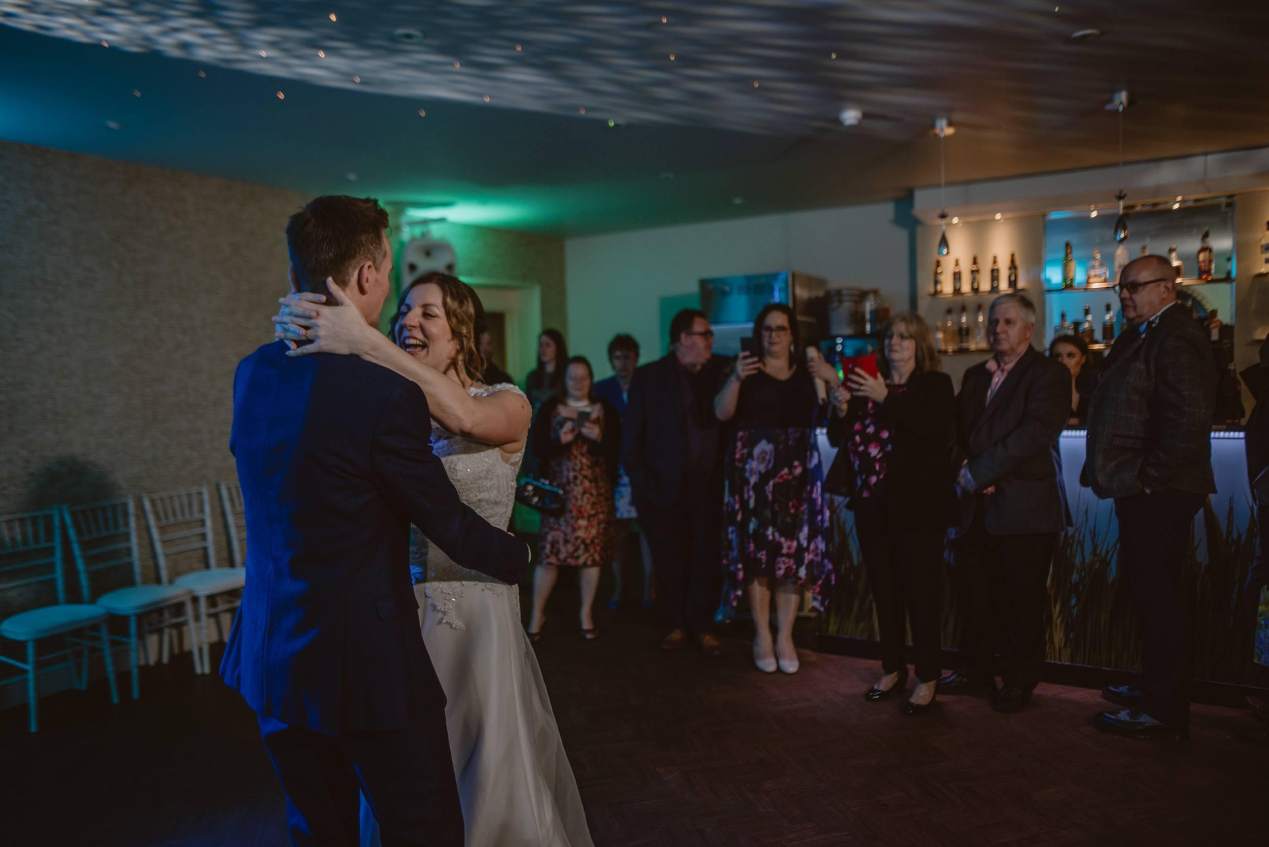 Covid Wedding First Dance